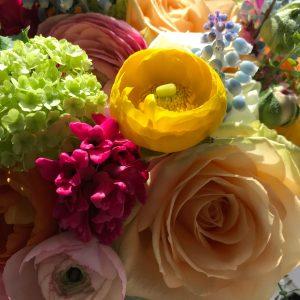 april wedding flowers, buckinghamshire