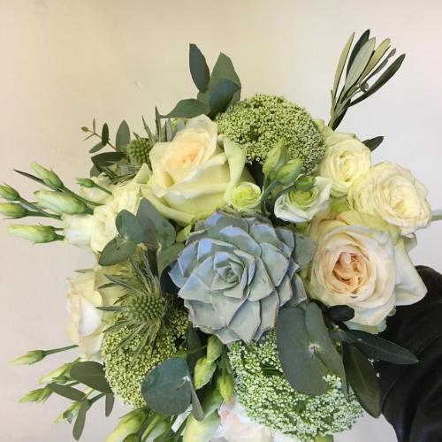 Olive and Succulent wedding
