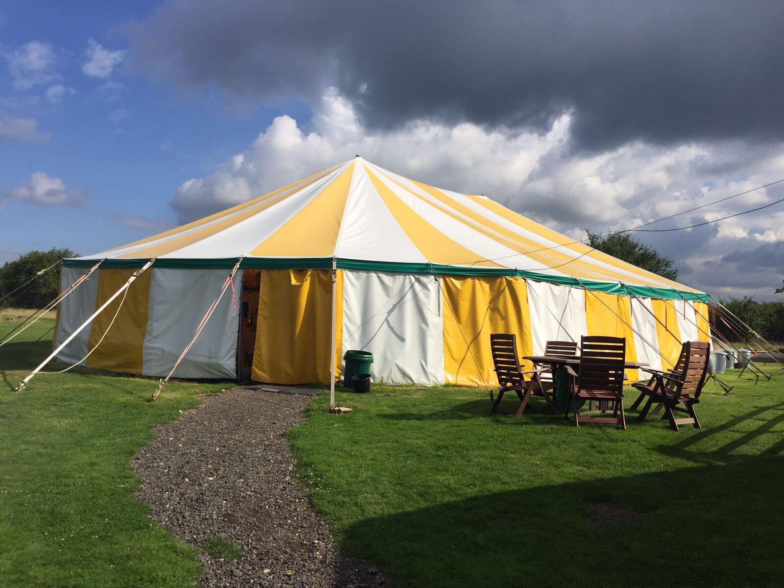 Circus Tent Wedding Venue