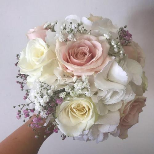 Pretty Pink and White Wedding