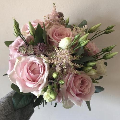 Pink Bridesmaids Bouquet