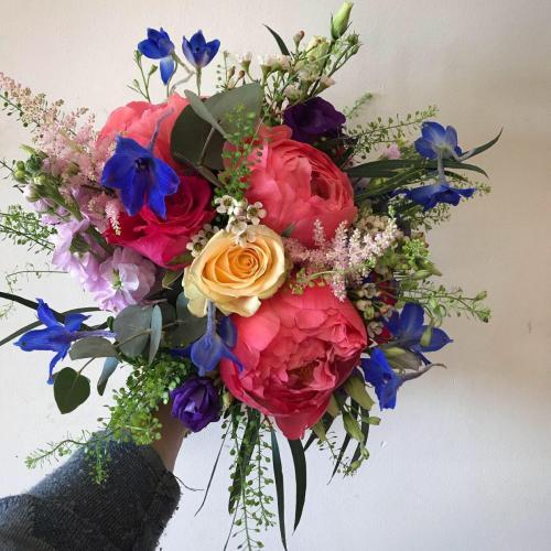 Vibrant Brides Bouquet