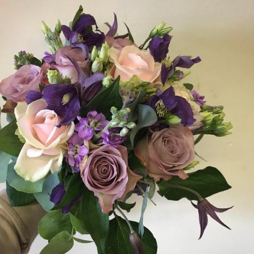 lilac Brides Bouquet