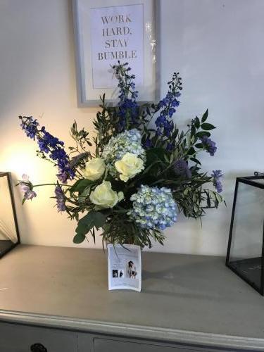 Pop up shop flowers