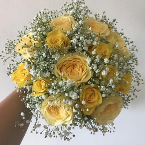 Lemon and White Wedding